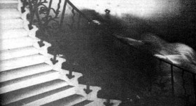 Tulip Staircase Ghost Photograph, National Maritime Museum, England